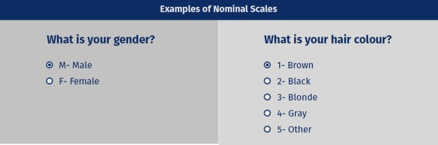 nominal scale example