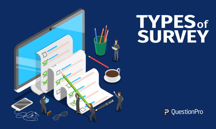 types of survey with