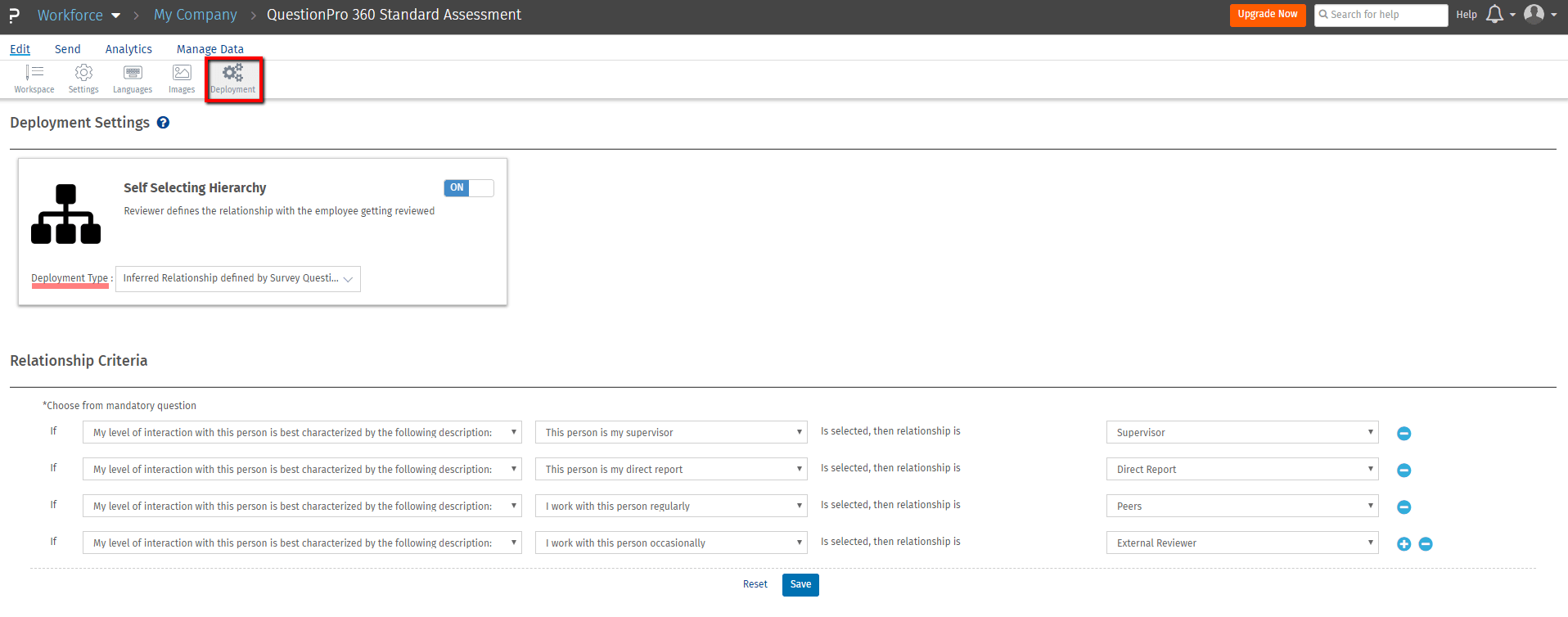 New Feature: Workforce Self-Select Hierarchy for Employee