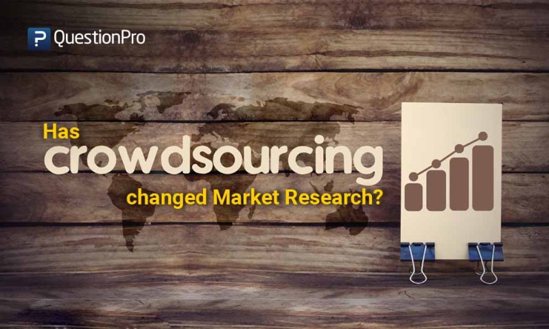 Has Crowdsourcing Changed Market Research
