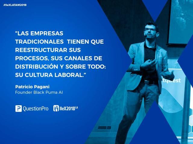 Patricio Pagani IIeX Latam 2018