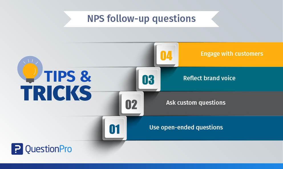 How to ask NPS follow-up questions