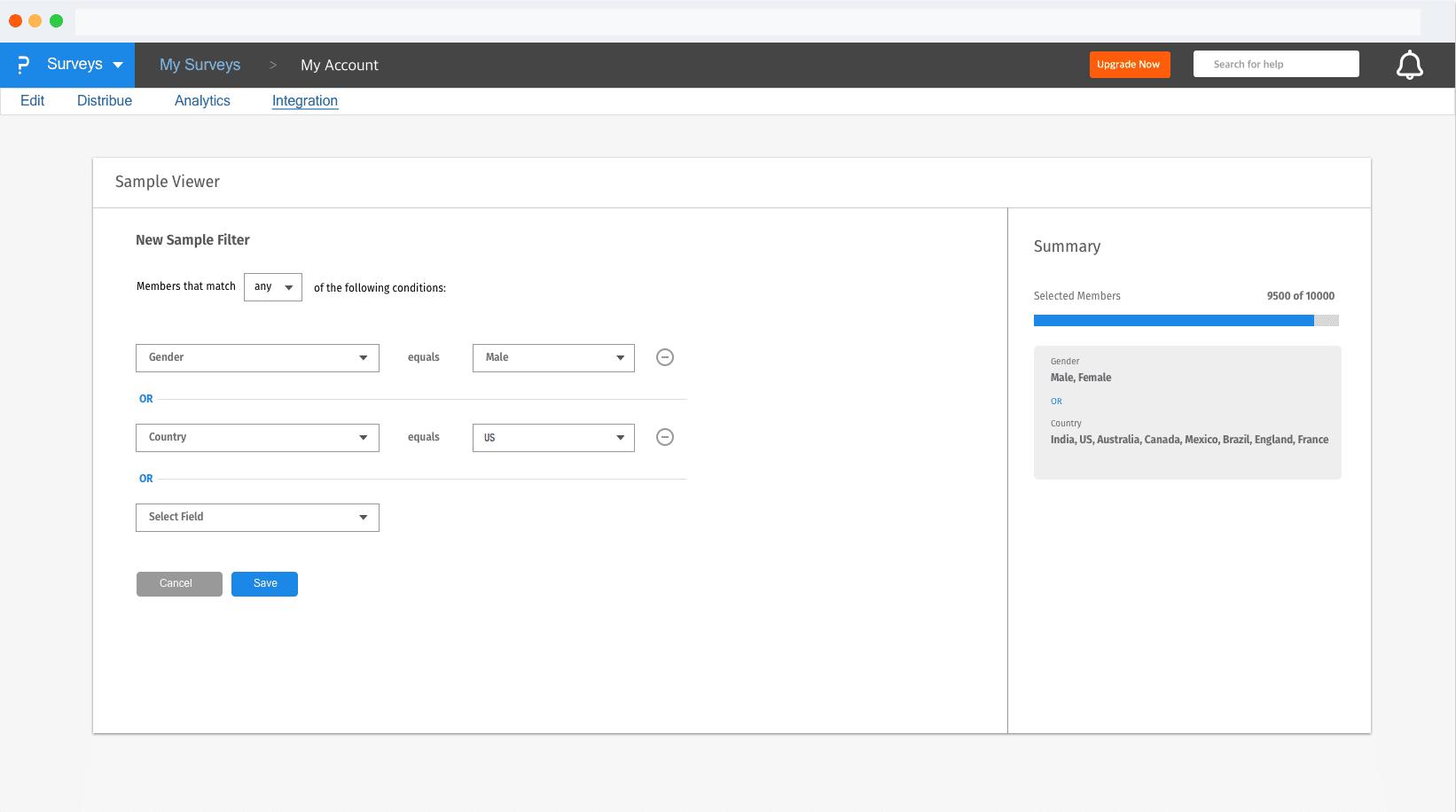 Communities Feature Update: Create Advanced Sample Filters
