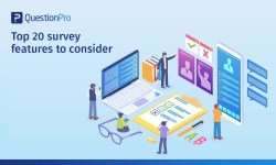 Top 20 survey features