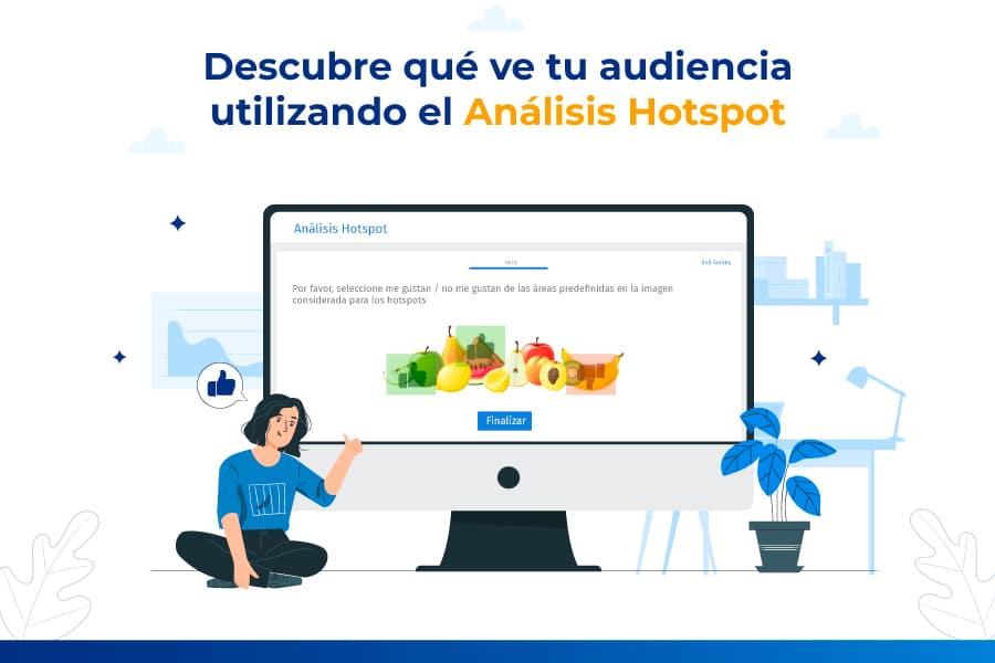 Descubre qué ve tu audiencia utilizando el Análisis Hotspot