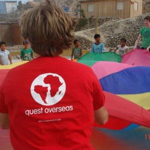 Gap Year volunteer in Peru