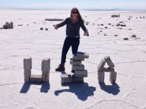 HIA from Sophia on the Bolivian Slat Flats