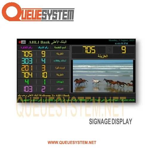 Signage Display