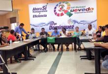 Concejales Marcia Quiñónez y Farid Burgos coordinan la organización de los cursos vacacionales