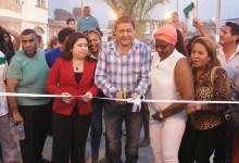 Vistoso y llamativo parque fue inaugurado en San Camilo