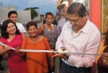 La 21 de Enero ya cuenta con el servicio de agua potable y adecentamiento de calles