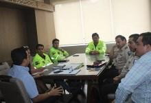 Alcalde JSC, recibió visita protocolaria de la Policía Nacional