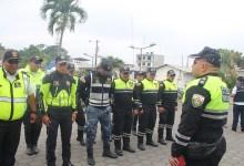 CTE refuerza operativos policiales dentro de la ciudad