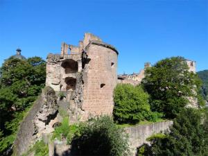 Ruines du château de Heidelberg