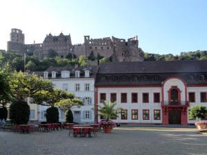 La Karlsplatz à Heidelberg