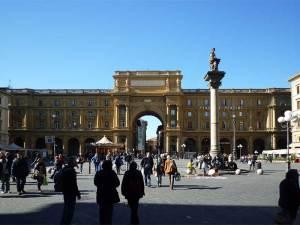 La Piazza della Republica