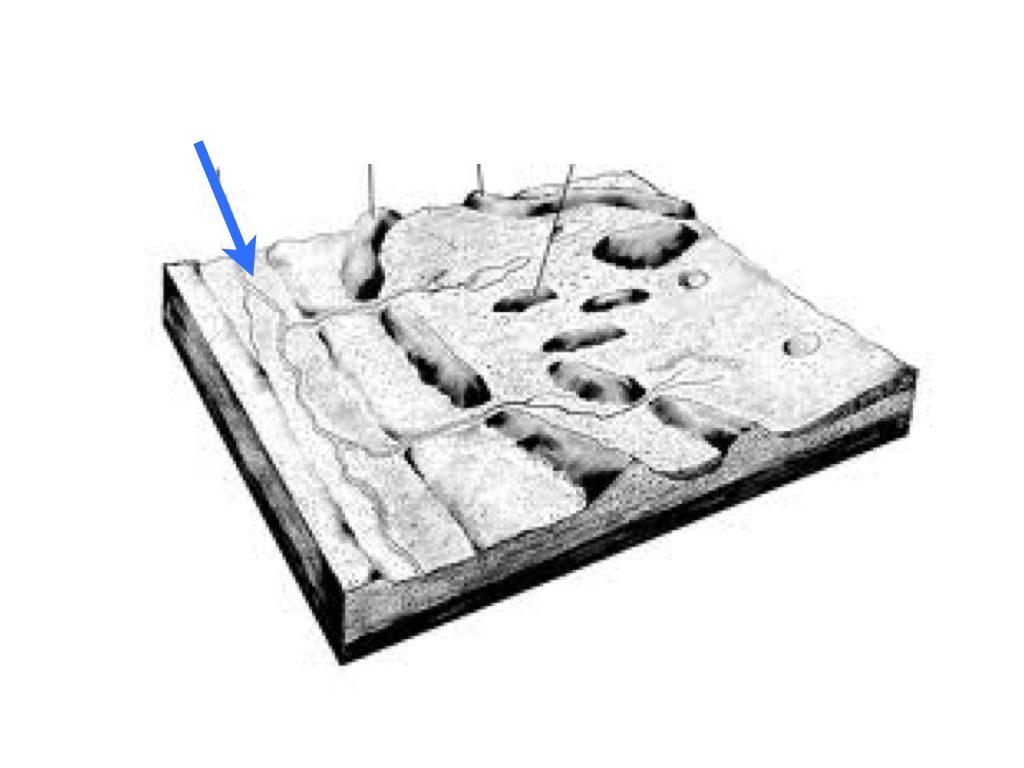 diagram drumlin hill