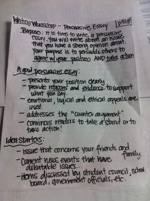 a persuasive essay topics