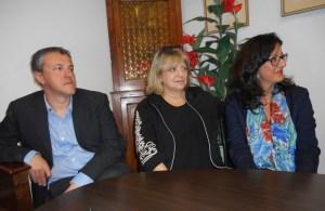 Paolo Viagi, Meri Mugellini, Eleonora Francois del Comitato Vivere all'Antella