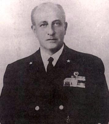 Il capo di Stato Maggiore della Marina ammiraglio Virgilio Spigai
