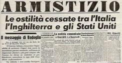 Il Corriere della Sera del 9 settembre 1943