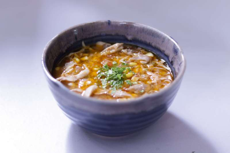Chicken Corn And Chilli Soup / www.quichentell.com