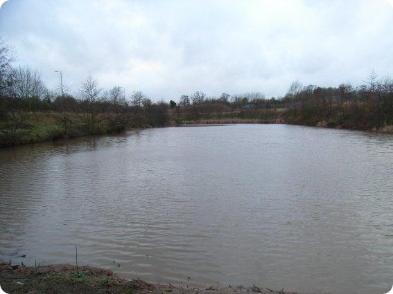 Balancing Pond Construction