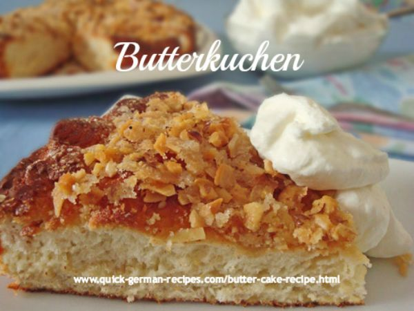 Butter Cake Recipe Traditional