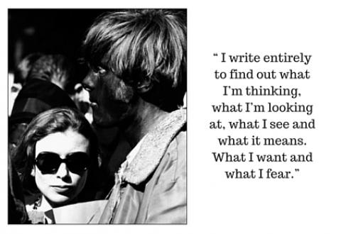 Image result for joan didion why i write