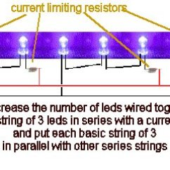 Wiring Speakers In Series Diagram 1991 Dodge Alternator Quickar Electronics How To Hook Up Leds - Choosing The Correct Scheme, Proper Current ...