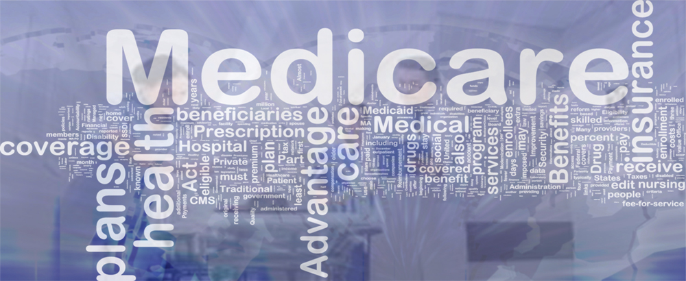 Background concept wordcloud illustration of medicare international