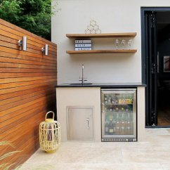 Backyard Kitchen Designs Pottery Canisters Are Outdoor Kitchens Worth The Investment Quicken Loans Blog Refrigerator Image Cathoward Design