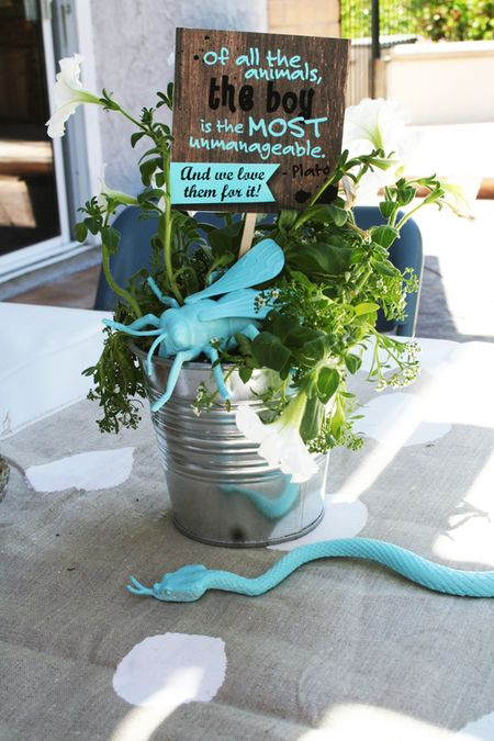 Mad Hatter Baby Shower Decorations