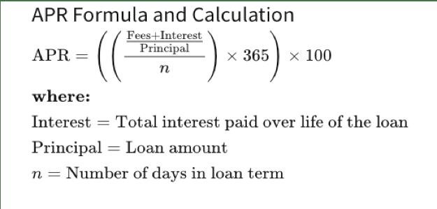 The APR formula