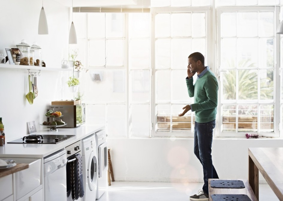 kitchen loans red light shades important information regarding your quicken billing statement man talking on cell phone in his