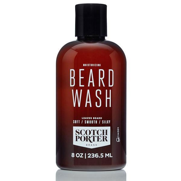 Moisturizing beard wash