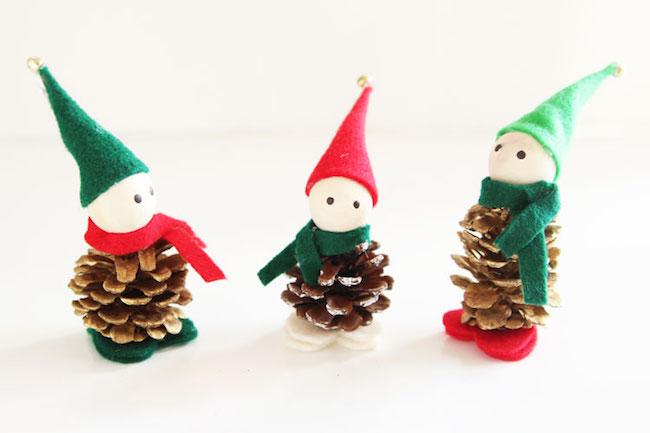 Pinecone elves
