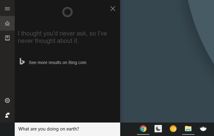 funny cortana commands, windows 10