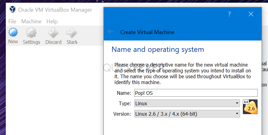 Creating a profile for pop OS