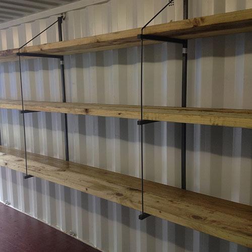 Container Shelf Bracket Quickft Container Accessories