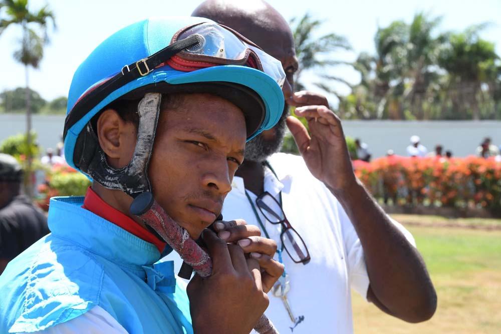 Jockey Anthony Thomas will not ride today. Sunday, December 27, 2020.