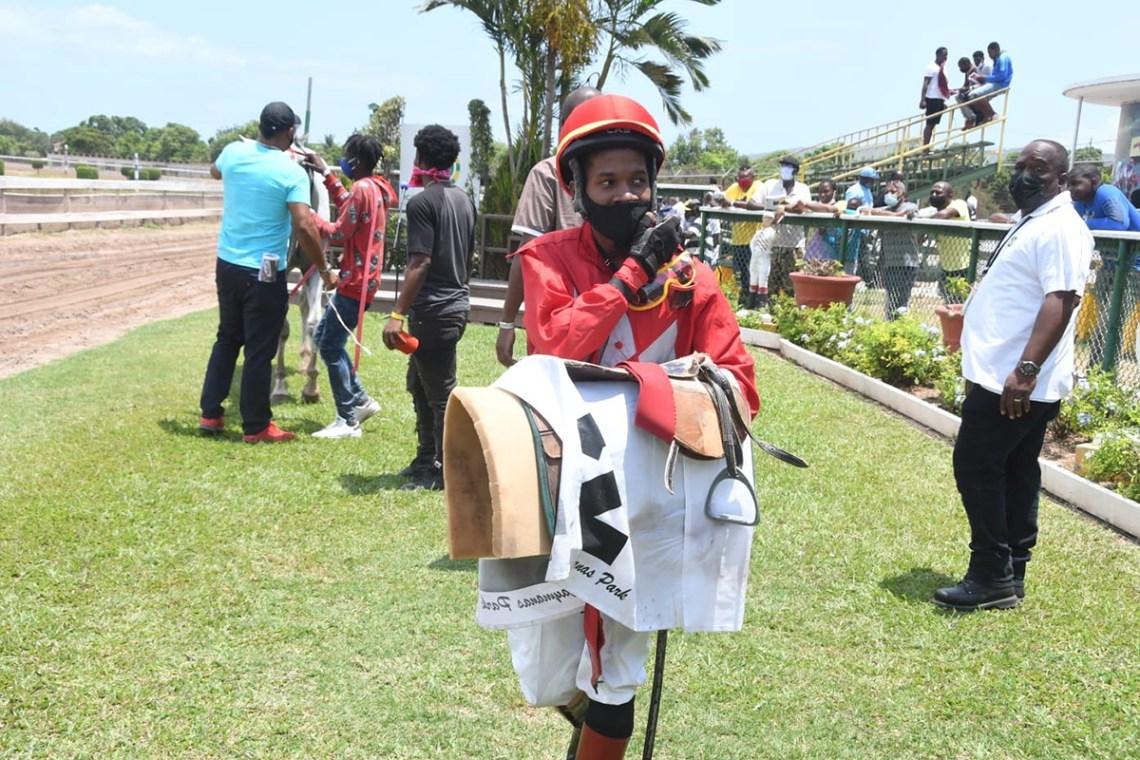 Jockey Daniel Satchell