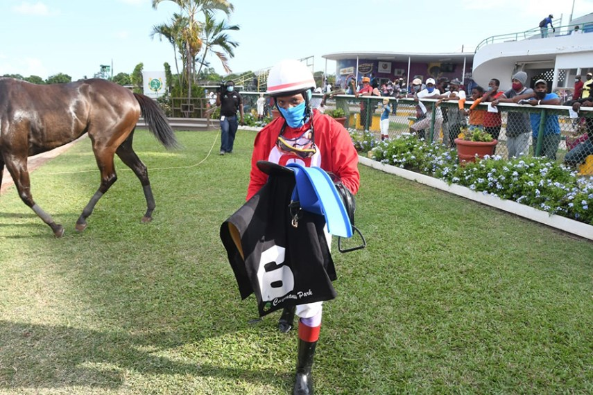 Anthony Thomas rode a triple on Saturday, May 29, 2021.