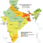 Indian states with highest population