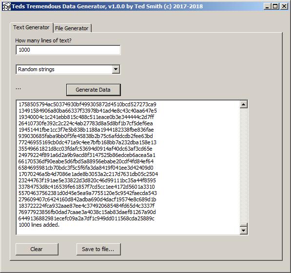 Image result for random data generator