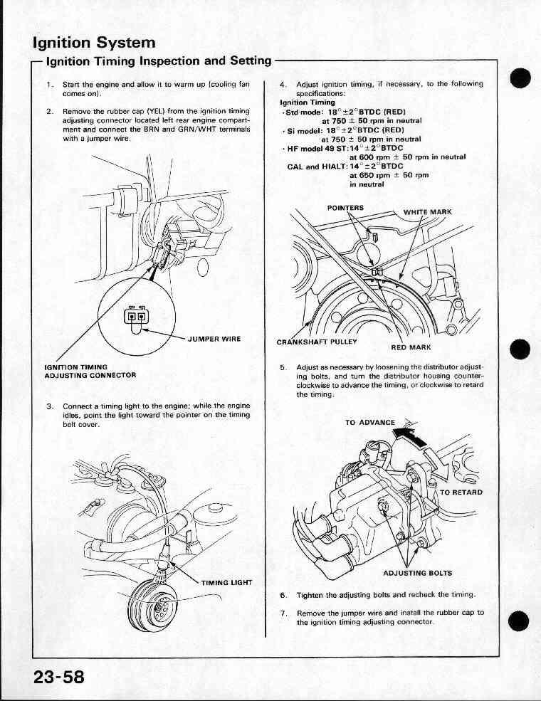 91 CRX Service Manual