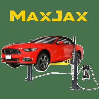 MaxJax Hydraulische Mobile 2 Säulen KFZ Hebebühne