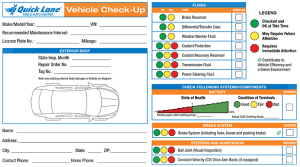 Vehicle Checkup Report