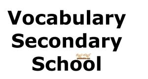 English Vocabulary worksheets شيتات كلمات للثانوي + الاجابة