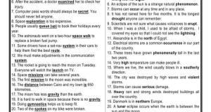 11 صفحة لعرض اهم جمل الاختياري انجليزي ثانوية عامة